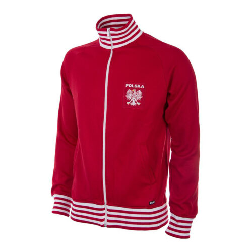 Poland 1980 Retro Football Track Top