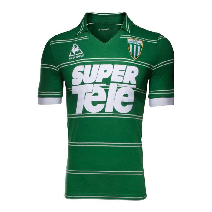 Saint Etienne 1980-81 Maglia Storica Calcio
