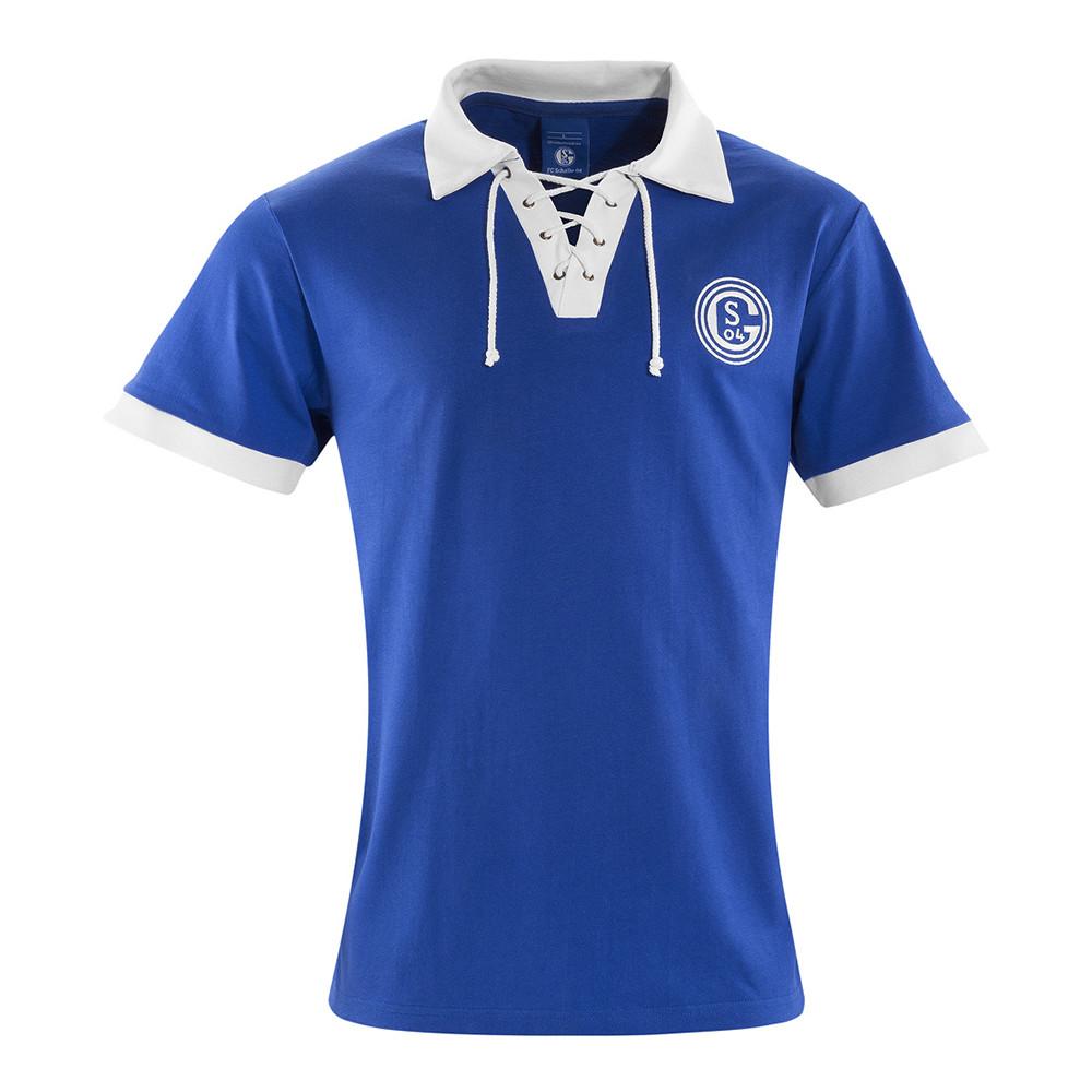 cf2725bf3f0 Schalke 04 1950-51 Retro Football Shirt – Retro Football Club ®