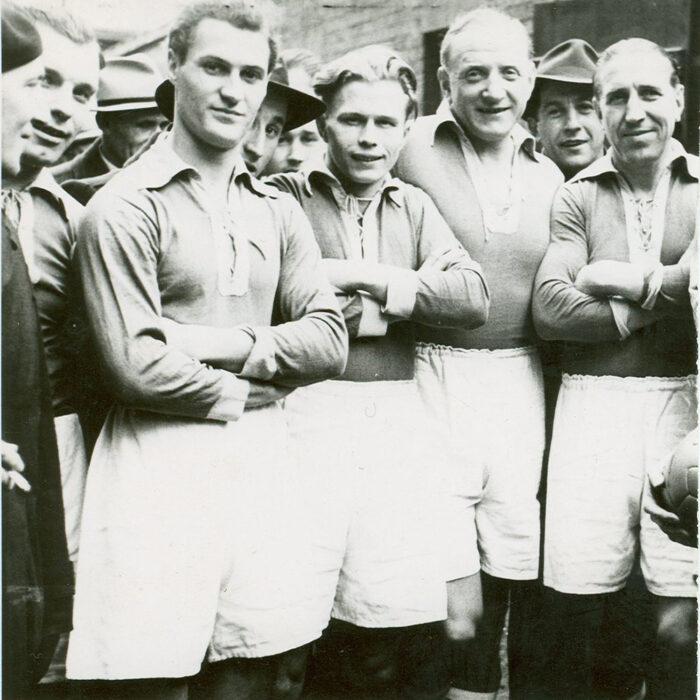 Schalke 04 1950-51 Maglia Storica Calcio