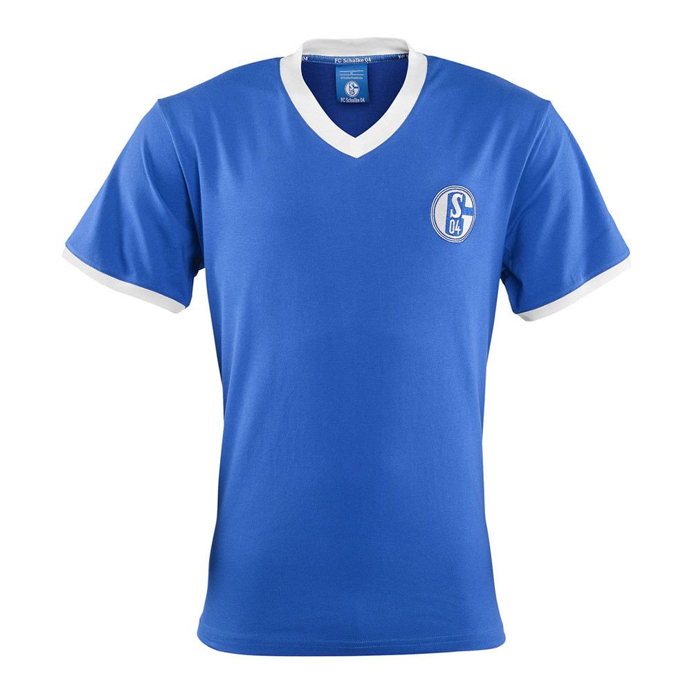 Schalke 04 1971-72 Retro Football Shirt