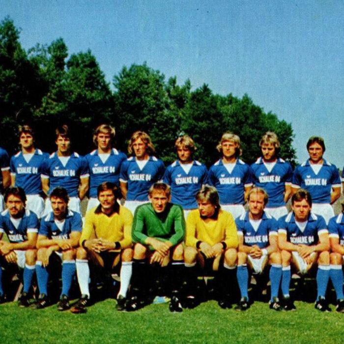 Schalke 04 1977-78 Maglia Storica Calcio