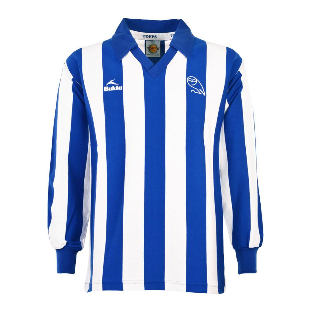 Sheffield Wednesday 1979-80 Maglia Storica Calcio