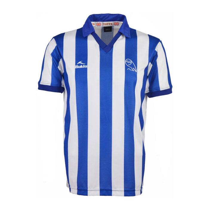 Sheffield Wednesday 1982-83 Maglia Storica Calcio