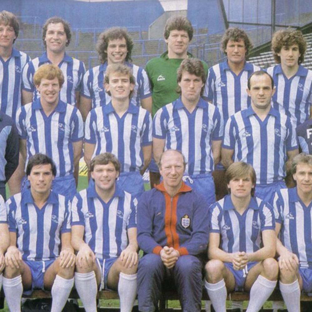 Sheffield Wednesday 1982-83 Maglia Storica