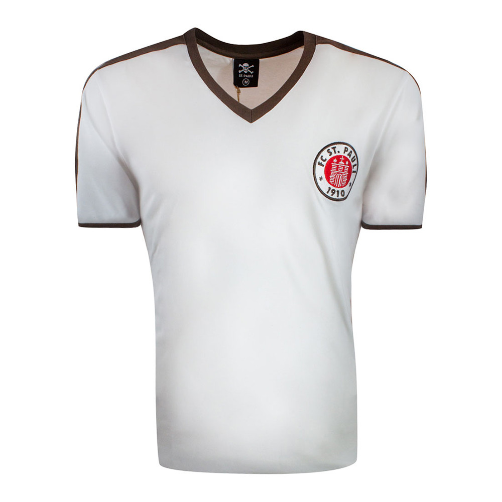 St Pauli 1965-66 Retro Football Shirt