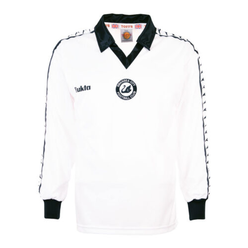 Swansea City 1977-78 Maillot Rétro Foot