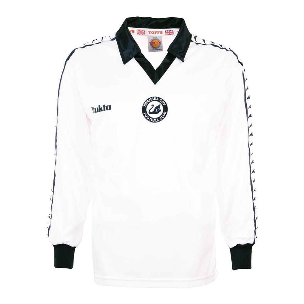 Swansea City 1977-78 Maglia Storica Calcio