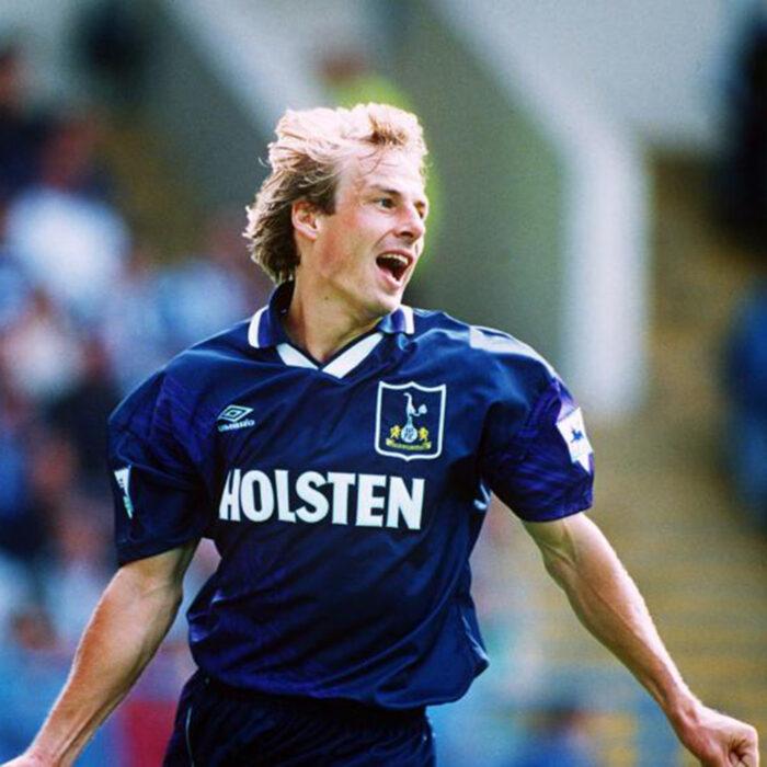 Tottenham Hotspur 1994-95 Away Maglia Storica