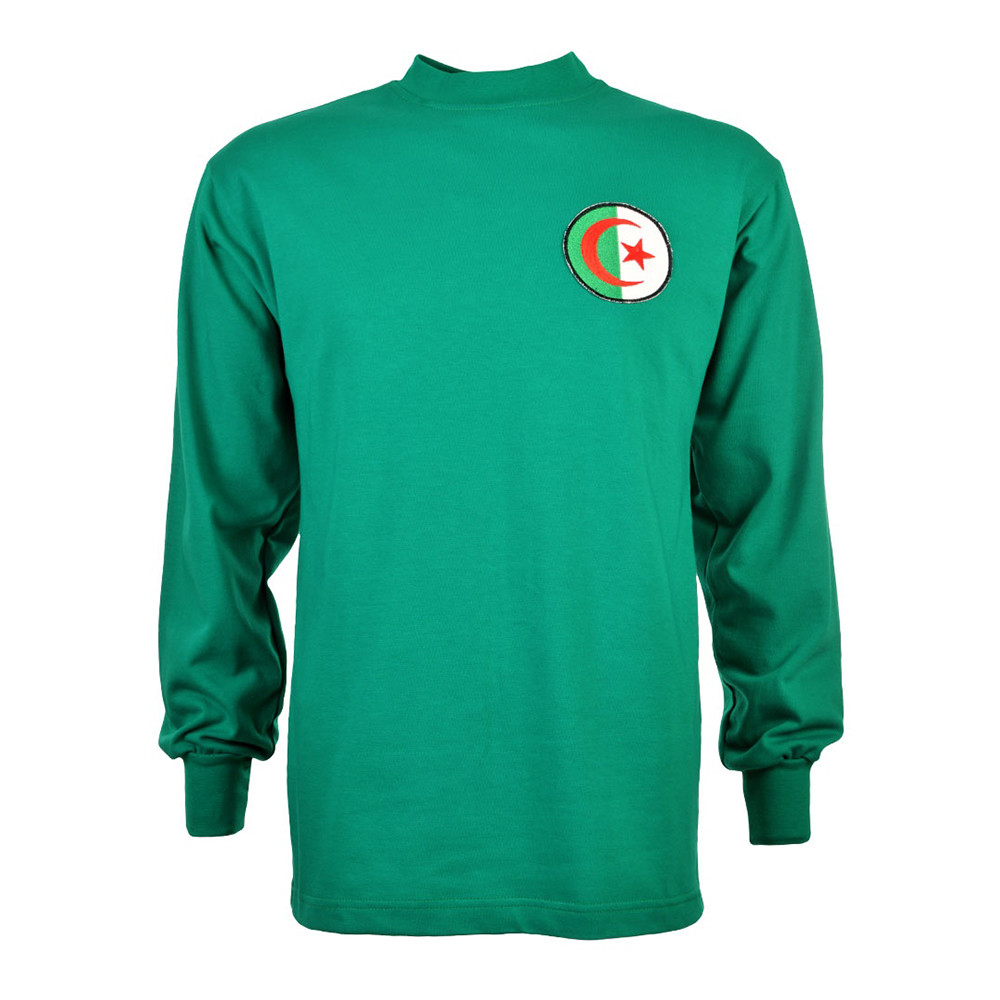Argelia 1968 Camiseta Retro Fútbol