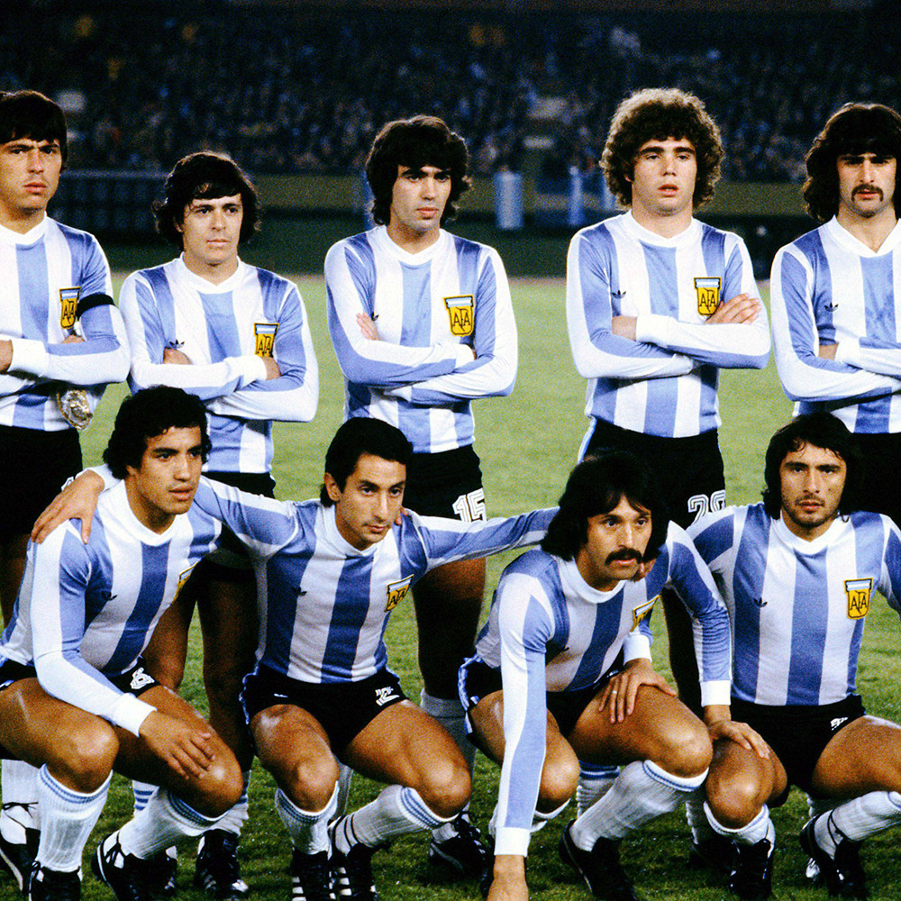 Argentina 1978 Maglia Storica Calcio
