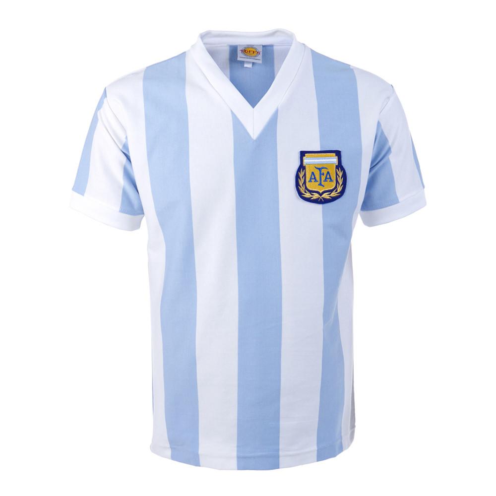 Argentina 1982 Camiseta Retro Fútbol