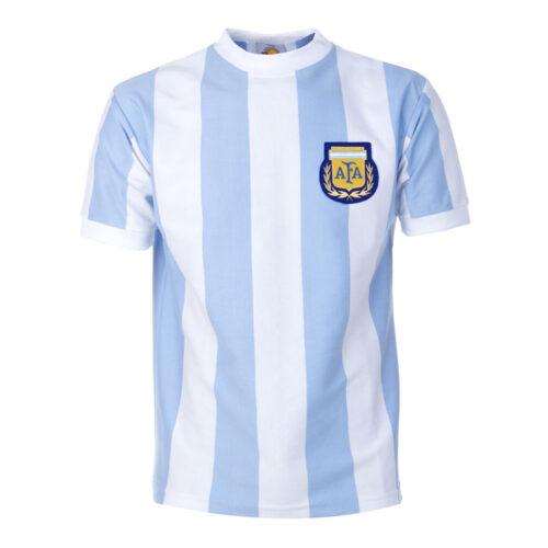 Argentina 1986 Camiseta Retro Fútbol