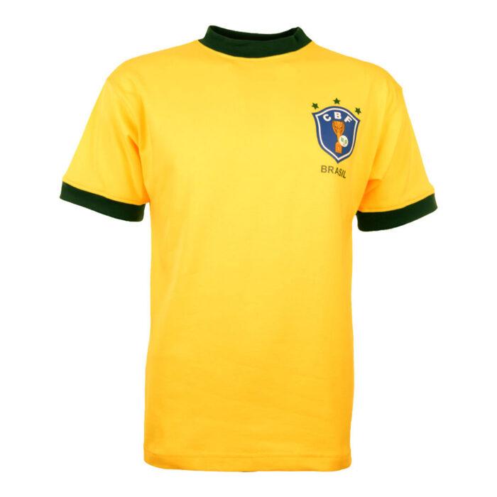 Brazil 1982 Retro Football Shirt