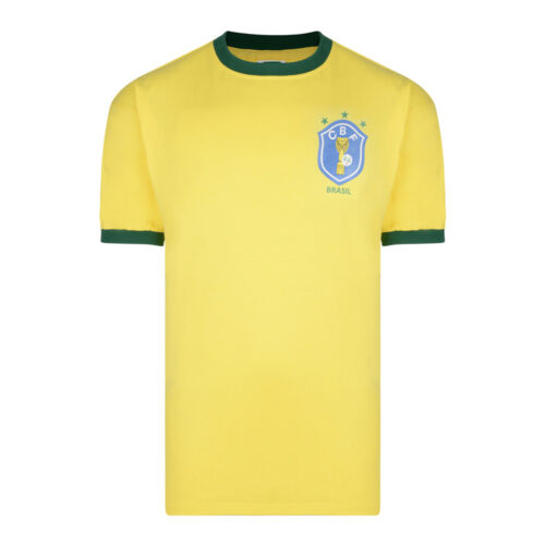 Brazil 1982 Retro Football Shirt