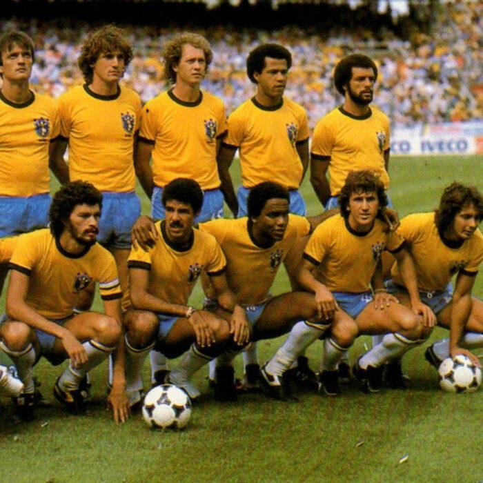 Brasile 1982 Maglia Storica Calcio