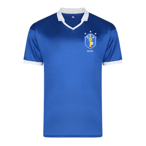 Brasil 1986 Camiseta Fútbol Retro