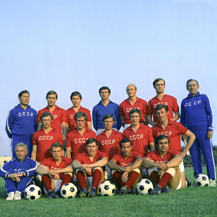 URSS 1972 Maglia Storica Calcio