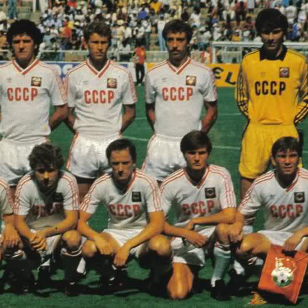 URSS 1986 Away Maglia Storica Calcio