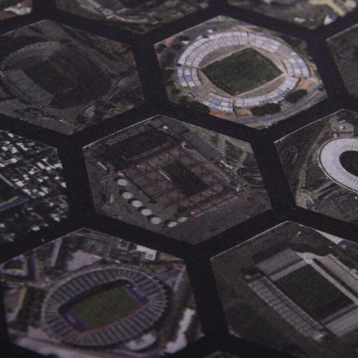 Copa Hexagon Stadium Maglietta Casual Nera