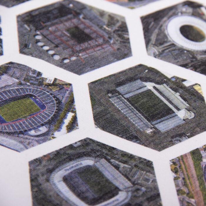 Copa Hexagon Stadium Maglietta Casual Bianca