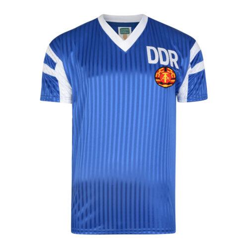 DDR 1990 Camiseta Retro Fútbol