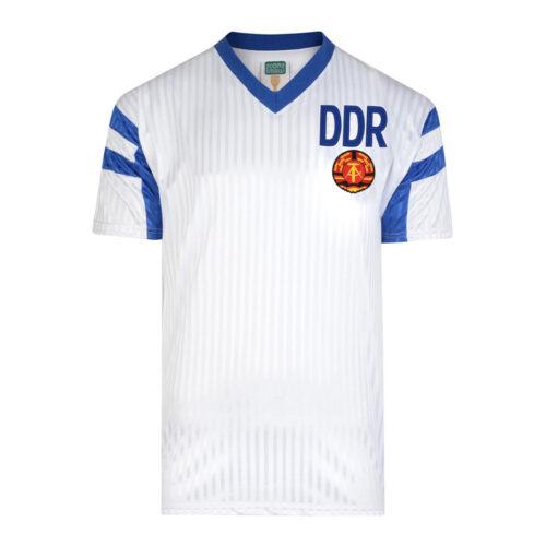 DDR 1990 Camiseta Fútbol Retro