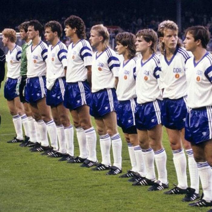 DDR 1990 Away Maglia Storica Calcio