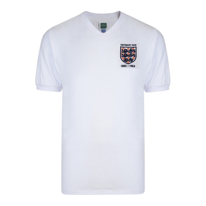 Angleterre 1963 Maillot Rétro Foot