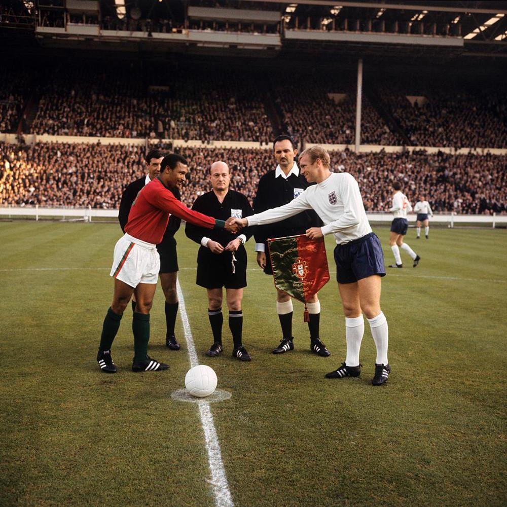 Inghilterra 1966 Away Maglia Storica Calcio
