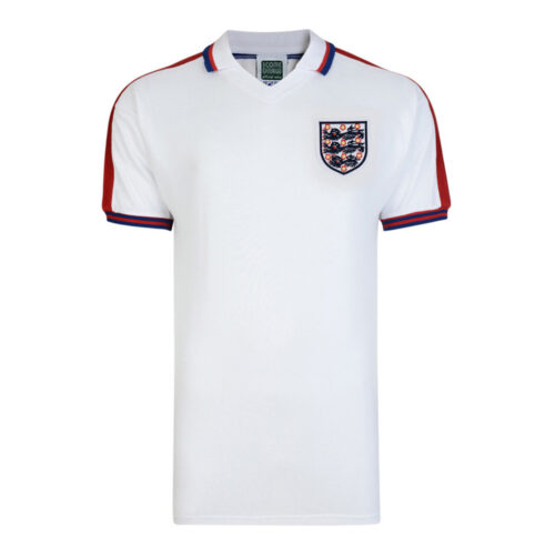 England 1977 Retro Football Shirt