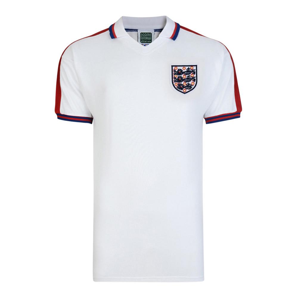 England 1977 Retro Football Shirt