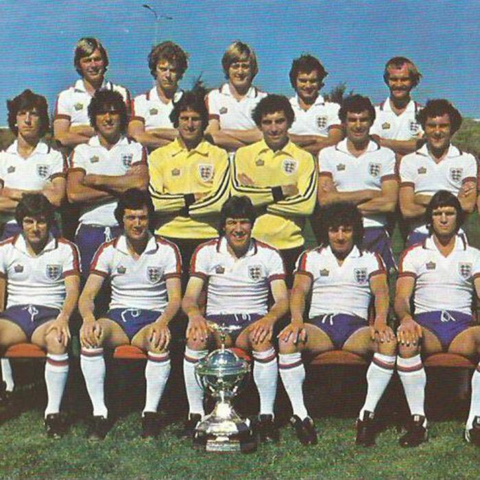 Inghilterra 1977 Maglia Storica Calcio