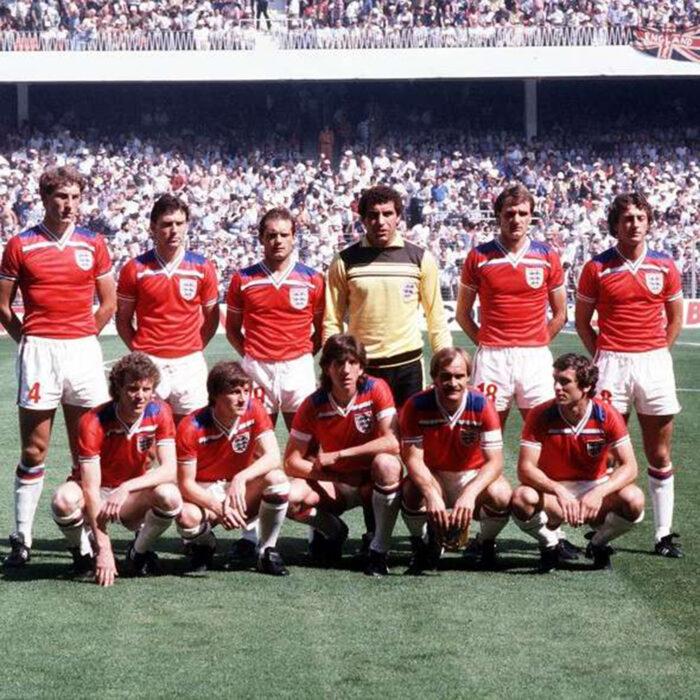 Inghilterra 1982 Away Maglia Storica Calcio