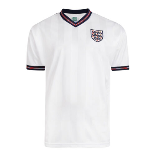 England 1986 Retro Football Shirt