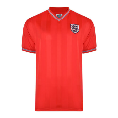 England 1986 Retro Football Jersey