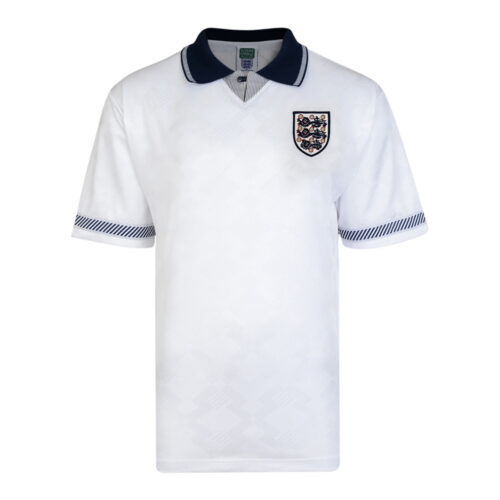 England 1990 Retro Football Shirt