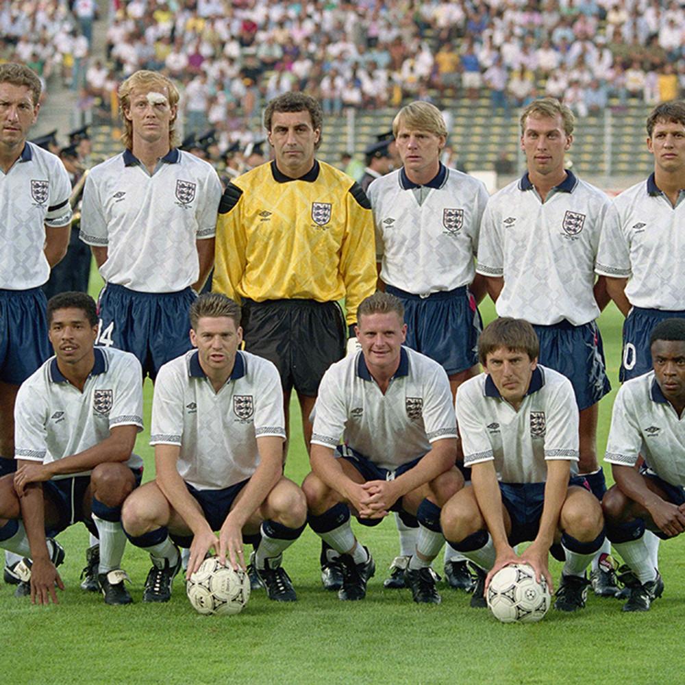 Inghilterra 1990 Maglia Storica Calcio