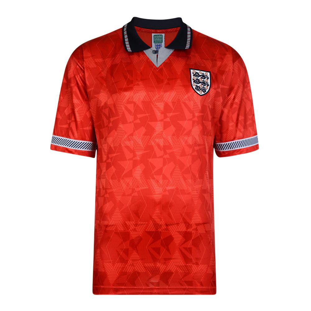 Angleterre 1990 Maillot Rétro Football
