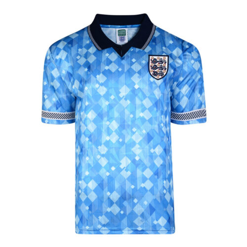 England 1991 Retro Football Shirt