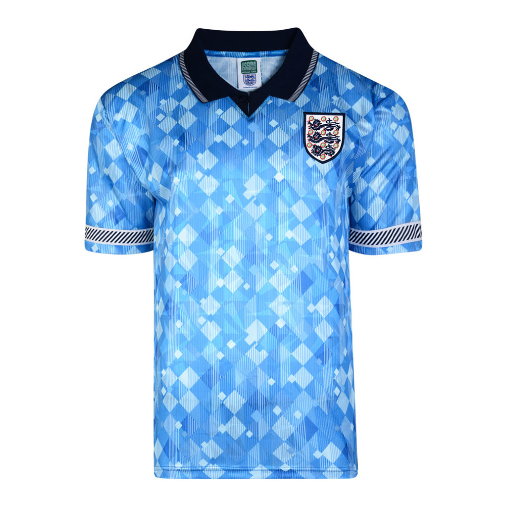 Angleterre 1991 Maillot Rétro Foot