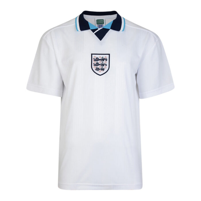 England 1996 Retro Football Shirt