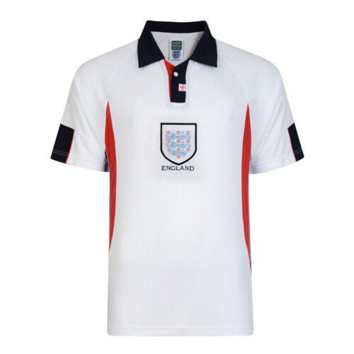 England 1998 Retro Football Shirt
