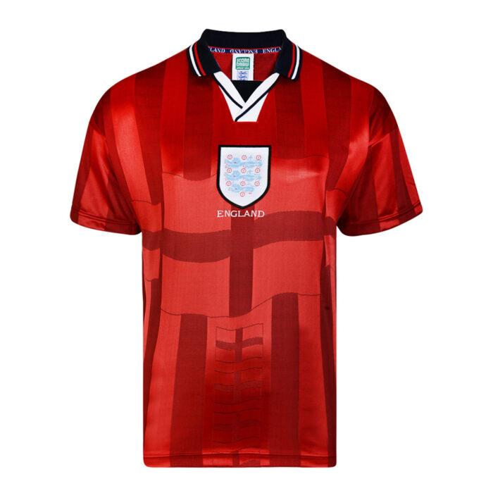 Angleterre 1998 Maillot Rétro Football