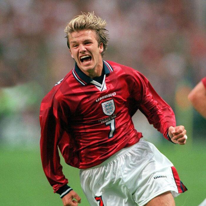 Inghilterra 1998 Away Maglia Storica Calcio