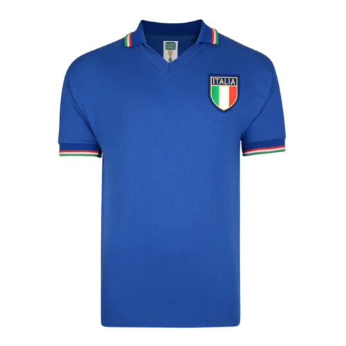 Italy 1982 Retro Football Shirt