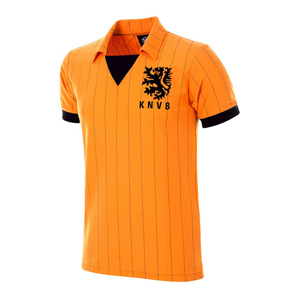 Holanda 1983 Camiseta Retro Fútbol