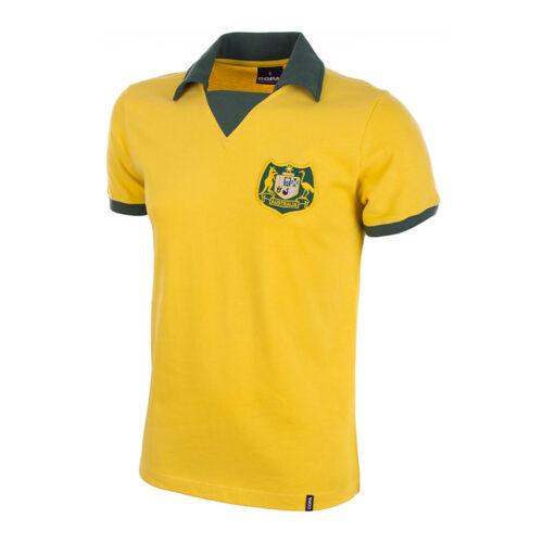 Australia 1973 Camiseta Retro Fútbol