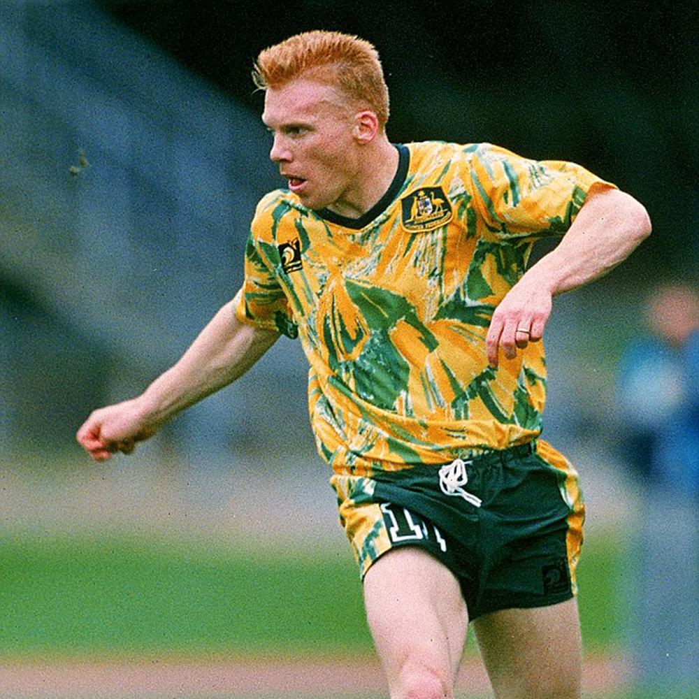 Australia 1993 Maglia Storica Calcio