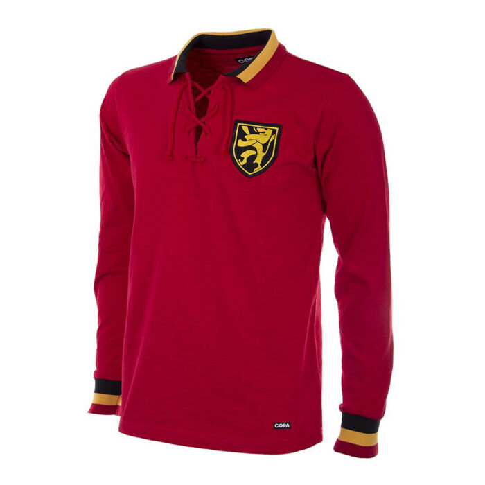 Belgium 1954 Retro Football Shirt